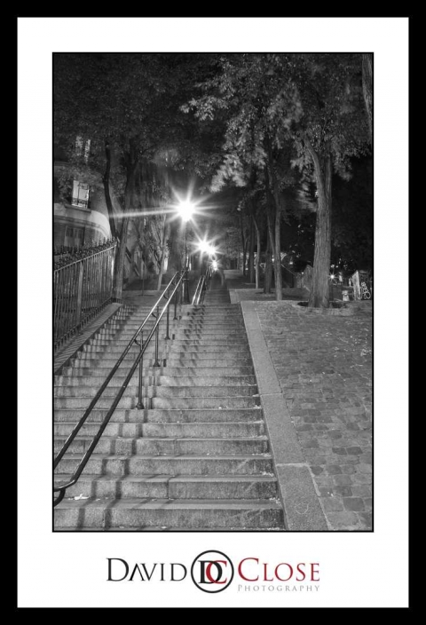 The Steps at Sacre Coeur 2